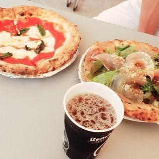 美味しいピザのお店