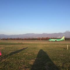 飛行機の見える公園 信州スカイパーク
