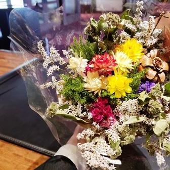 アトリエ麦の花 花束